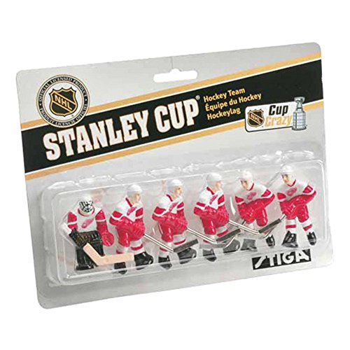 Lowest Prices! Stiga Rod Hockey Team Pack - Detroit Red Wings
