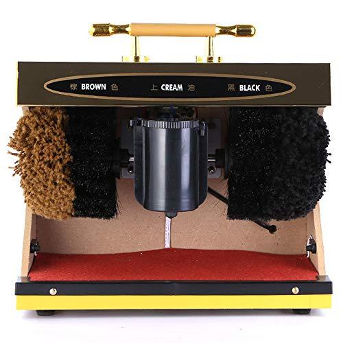 DDIAN Pulidora Eléctrica para Zapatos Máquina De Pulido Y Abrillantador Mecánico para El Pulido De Zapatos De Inducción Completamente Automática Cepillo De Limpieza