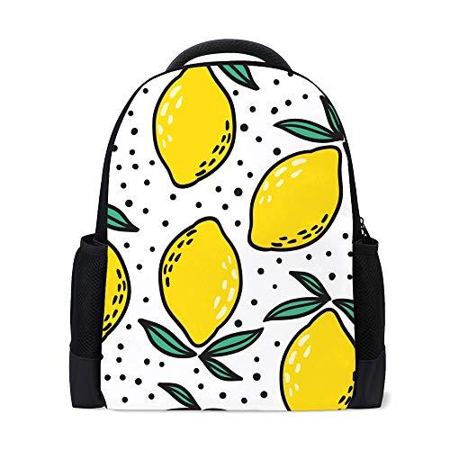 Ruchen zaino scolastico università borsa elegante palestra viaggio zaino casual 40,6 cm Stile 1 16Inch