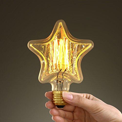 Star-Shaped Edison Bulb