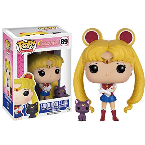 MMZ Figura Pop!Sailor Moon & Luna de Colección Vinilo Figura de Sailor Moon