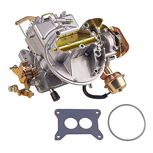 GELUOXI 2-Barrel Carburetor Carb 2100 2150 for 1964-1982 Fo-rd F100 F250 F350 Mustang Mercury Comet with 289 302 351 Cu Engine, Je-ep Wagoneer 1964-1978 with 360 Cu Engine 2100A800 (Electric Choke)