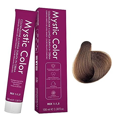 Mystic Color - Colore Biondo Scuro 6 - Tinta per Capelli - Colorazione Professionale in Crema a...