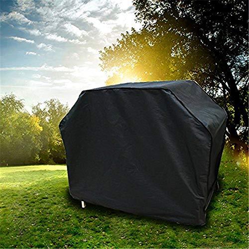 Essort Telo Copertura Barbecue 150x130x130cm, Copribarbeque Impermeabile, Telo Protettivo per BBQ Grill Anti Pioggia Polvere Sole Neve 210D Tessuto Oxford, Nero …