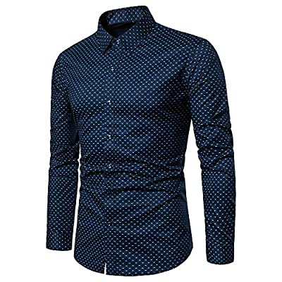 Amazon - 60% Off on Mens Dress Shirts Regular Fit Long Sleeve Men Shirt