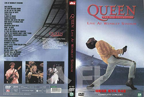 Queen: Live at Wembley (1986) World's biggest band / NEW DVD - NTSC, All Region (Registered tracking number)