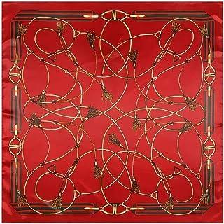 VINTAGE ELEGANTE Designs seta di raso al tatto Donna Piccolo Quadrato Testa//Collo Sciarpa 89