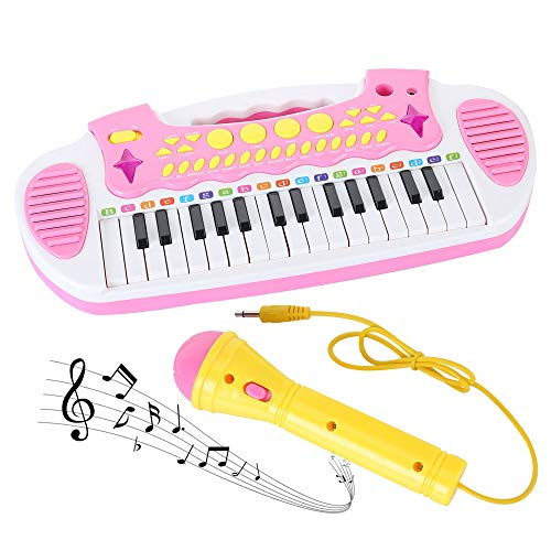 Love&Mini Toy Piano Keyboard for Toddler - Kids Piano for Baby Girls...