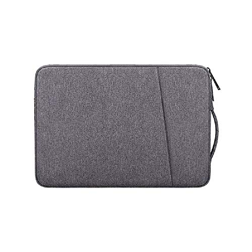 Laptop Sleeve for 13 Inch MacBook Pro and MacBook Air, Laptop Case for 13 -13.3 Inch Computer Notebook, Waterproof Shock Resistant Tablet iPad Case Bag with Handle and Accessory Pocket, Space Gray