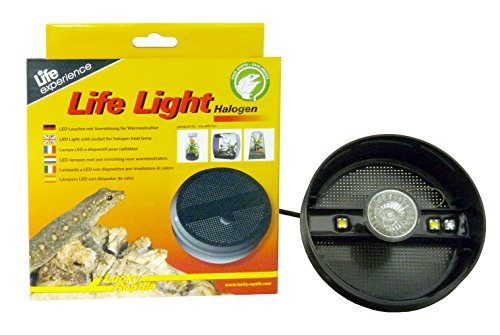 Lucky Reptile LL-1 Life Light met LED, passende LED-lamp voor Insect Tarrium, Life Boxen en Life Piramide, halogeen, rond