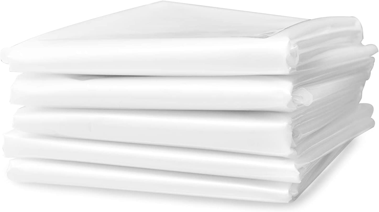 Surprise price 5 Sheets Plastic Drop Selling Cloths Painting Sheeting