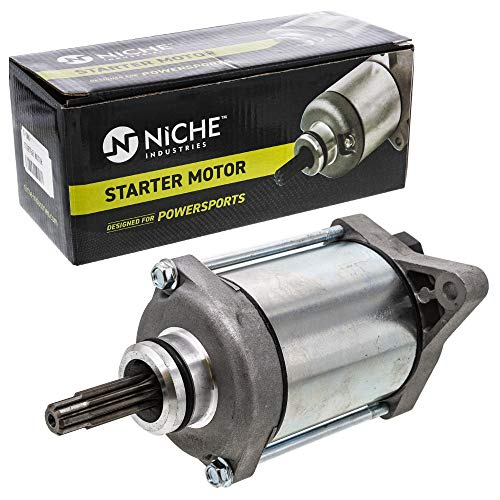 NICHE Starter Motor Assembly 31200-HP5-601 High Torque for 2007-2014 Honda Rancher 420 TRX420