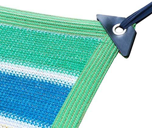 Mirui 2X4m Greenhouse Covers Sunblock Shade Cloth Net Mesh Tarp Cloth Net UV Resistant Mesh Fabric For Greenhouse Pergola Carport Gazebo Lawn (Size : 4m X 8m) (Size : 4m x 8m)