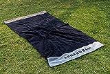 Burrito Blanco Toalla Armand Basi 62 | Toalla Playa | Toalla Piscina | 100% Algodón | Tacto de Terciopelo | Toalla 100x180cm | Color Gris