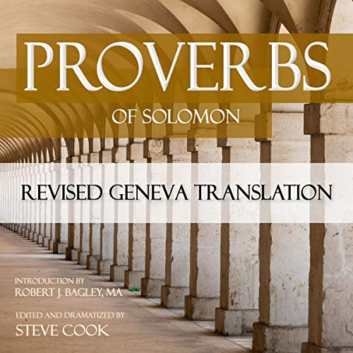 Proverbs of Solomon: Revised Geneva Translation cover art