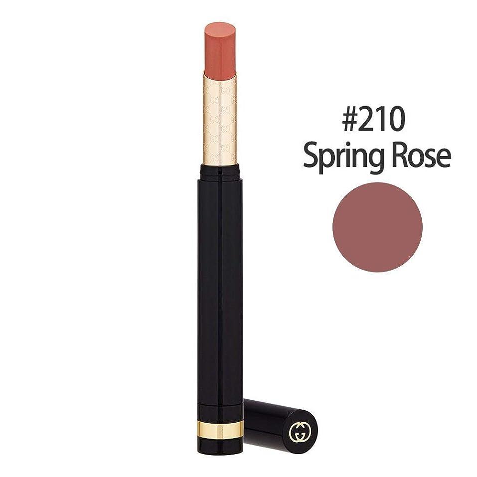 地味な暗殺する感度グッチ(GUCCI) センシュアスディープマット リップスティック #210(Spring Rose) 1.5g [並行輸入品]