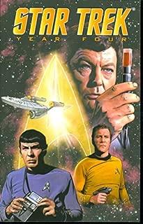 Star Trek: Year Four (Star Trek (IDW)) by David Tischman (2008-03-18)