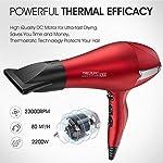 Beauty Shopping Hair Dryer, Professional Ionic Blow Dryer, Salon 2200 watt Ceramic Tourmaline Quiet