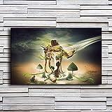 N/A Leinwand Malerei Wohnzimmer WandkunstFantasie