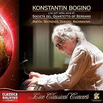 Live at Società del Quartetto of Bergamo - 2018