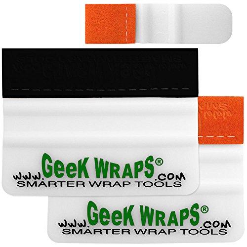 Geek Wraps 4INS-M-KIT - 4 Inch Soft Edge/Marine & Micro Marine Squeegee Kit