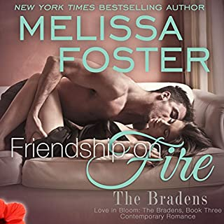 Friendship on Fire audiobook cover art