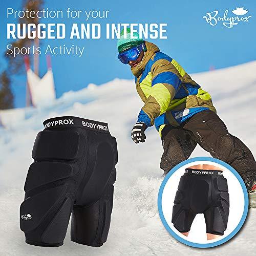 3D EVA Padded Short Protective Hip Butt for Snowboard Skating Skiing Protection