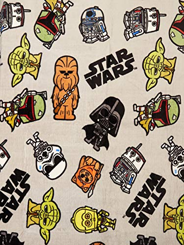 Colchas Concord Star Wars Cobertor Ultrasuave Star Wars Individual, Color Gray, Pack of/Paquete de 1