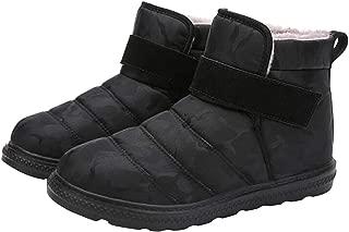 Fulision Autumn And Winter Unisex snow boots Non-slip waterproof Keep warm Flat boots
