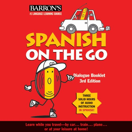 Spanish on the Go audiobook cover art