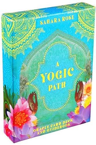 A Yogic Path Oracle Deck and Guía 54 Tarjetas Tarot Game Toy Party Board Juego