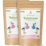 JoviTea Babytraum Tee BIO 2er Sparset – Traditionelle Rezeptur - spezielle Kräutermischung – aus kontrolliert biologischem Anbau. 100% natürlich und ohne Zusatz von Zucker - 2x75g
