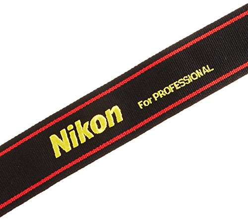 NikonネックストラップスーパーワイドII一眼レフ用シンプルレッド2337