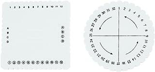 Creafirm Disque Rond 10.3cm pour tressage Kumihimo