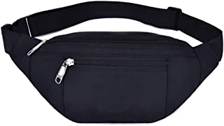 Waist Pack Bag for Men&Women - Waterproof Fanny Pack with Adjustable Strap for Workout Traveling Casual Running.