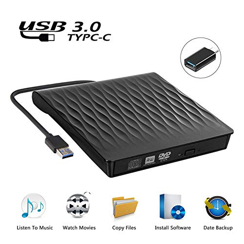 USB 3.0 dvd-brander ondersteunt D9 brandend extern optisch station USB 3.0 extern dvd-station draagbare slanke cd/dvd-rw-brander