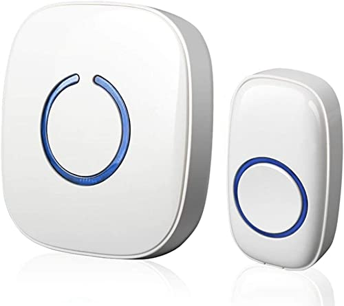 SCCES Wireless Doorbell Operating at over 500-feet Range with Over 50 Chimes, No Batteries Required for Receiver, Bes...