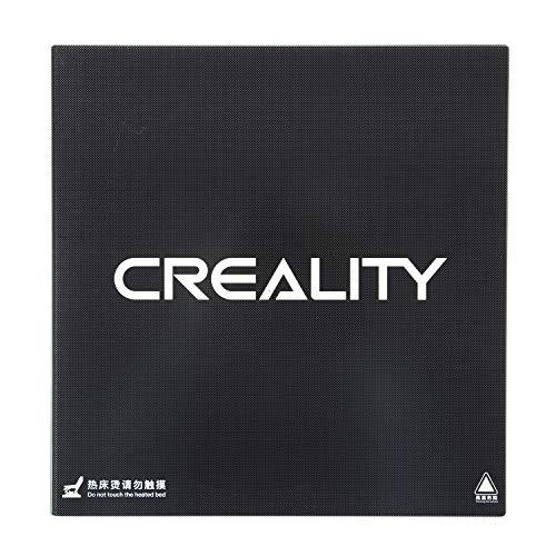 Z.L.FFLZ Parti della Stampante 3D Accessori per stampanti CR-X Carbon Silicon Platform Vetro temprato Superficie di Costruzione per Stampante 3D CR-x CR-10S PRO