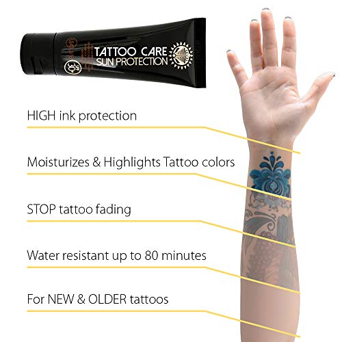 Tattoo Care Sunscreen UVA UVB SPF 30+