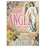 Guardian Angel Tarot Cards,50 Hojas de Cartas de Tarot,Versión Inglesa,Juego de Solitario Family...