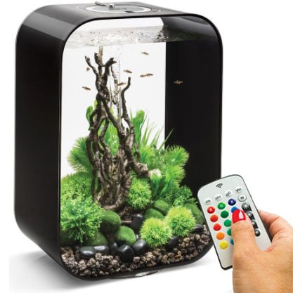 biOrb Life 45 Liter Black Aquarium with MCR Lighting