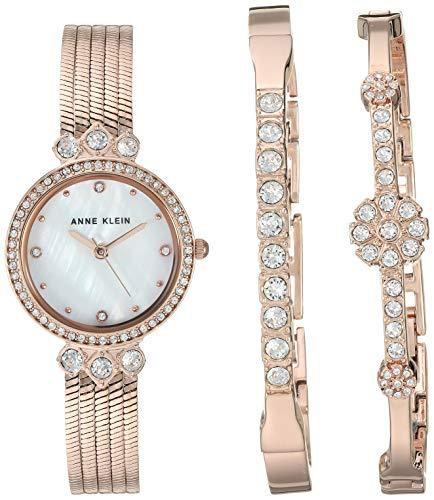Anne Klein Women's Premium Crystal...