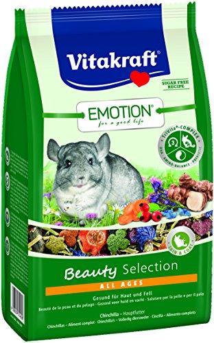Vitakraft d'aliments pour rongeur, Luzerne, carottes et fleurs, trivita-Complex, Emotion Beauty Selection All Ages (5X600g)