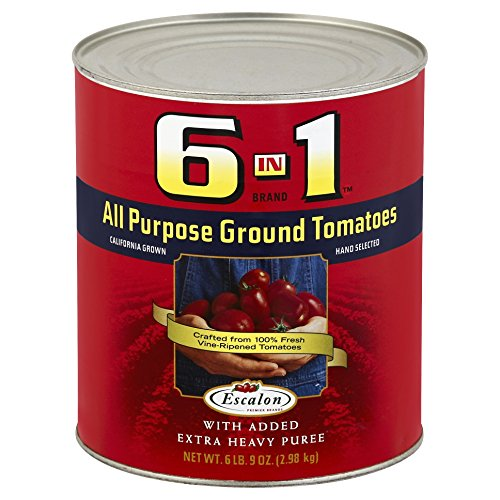 Heinz 6 in 1 All-Purpose Ground Tomatoes Tin, 6.9 Pound