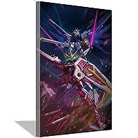 機動戦士ガンダムポスター、アニメ壁画、ウォールアートデコレーション絵画、帆布絵画、ギフト20x30cm(8x12inch)内枠