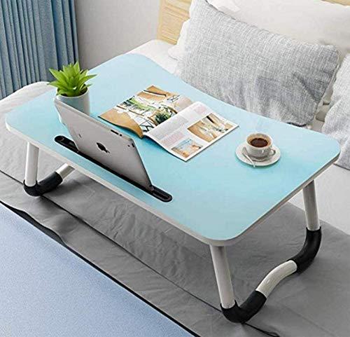 Laptop Schreibtisch Bett Tisch Schoß Stehtisch für Bett und Sofa Frühstück Bett Tablett Schoß Schreibtisch Frühstück Serviertablett Notebook Ständer Lesehalter für Couch Boden Kinder (60 x 40 cm)