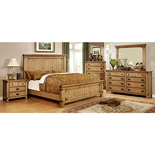solid wood bedroom set - 2