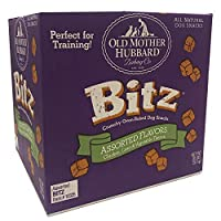 Old Mother Hubbard Bitz Natural Crunchy Dog Training Treats, Chicken, Liver & Veggies, 20-Pound Box by Old Mother Hubbard