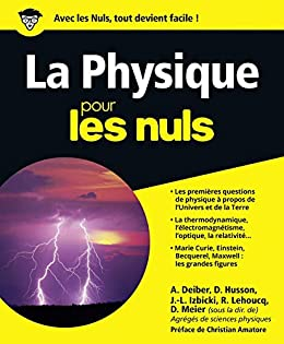 Amazon Com La Physique Pour Les Nuls French Edition Ebook Meier Dominique Kindle Store