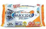 ライフ堂 クリンクル IH・ガスコンロクリーナー20枚×30個入[ケース販売] LD-604